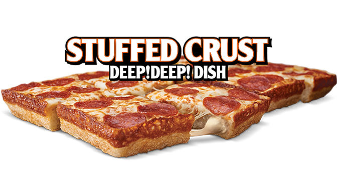 Little Caesars Canada Debuts New Stuffed Crust Deep Deep Dish Pizza