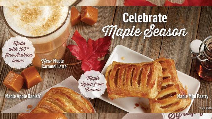 McDonald's Canada Celebrates Maple Season With New Maple Caramel Latte