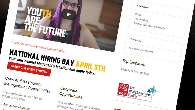 McDonald's Canada Hacked - 95000 Job Applicants Affected