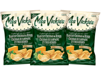 Miss Vickie's Launches New Harvest Cheddar & Herbs Kettle Cooked Potato Chips