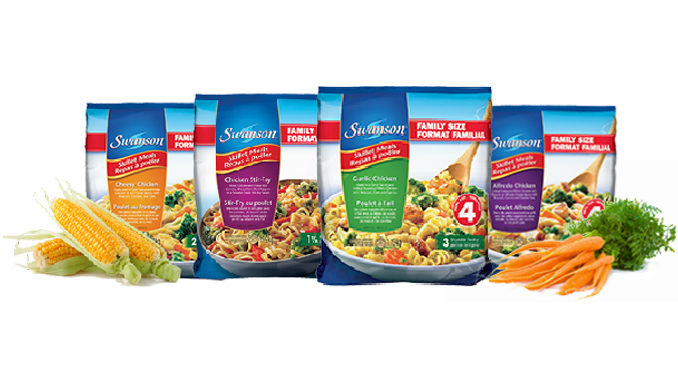 Swanson Canada Introduces New Family-Sized Skillet Meals