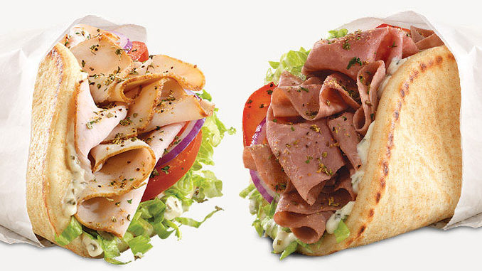 Arby's Canada Offers Any 2 Gyros For $8