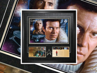 Canada Post Unveils Admiral James T. Kirk And Starfleet's Finest Captains Stamps