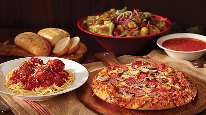 East Side Mario's Offers Build Your Own Pasta Or Pizza Through April 30, 2017