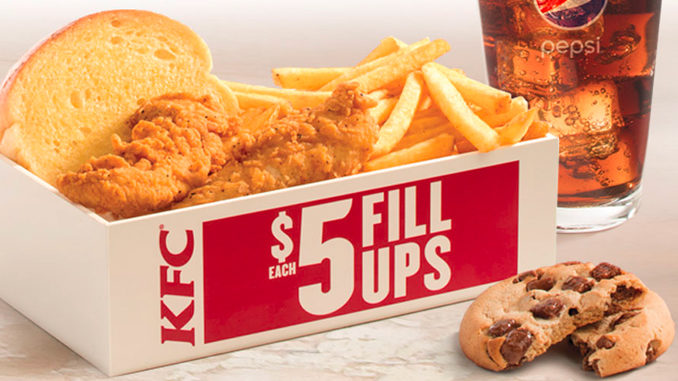 KFC Canada Offers Boneless Original Recipe Tenders In $5 Fill Up