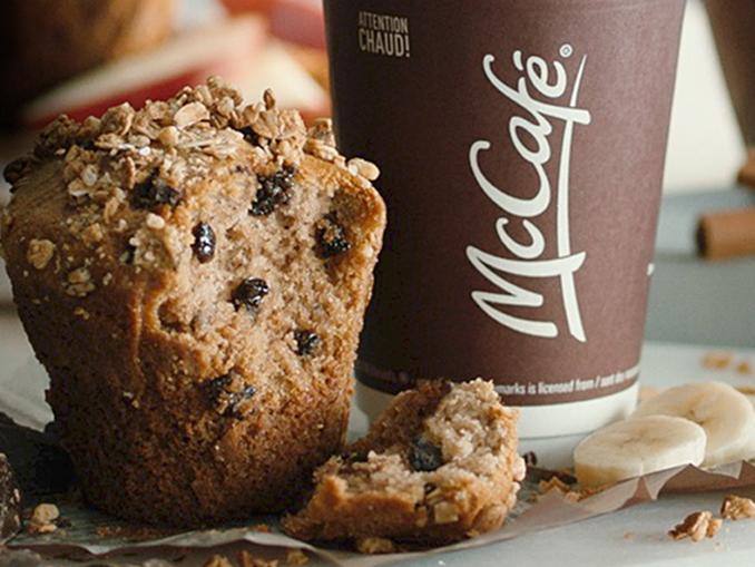 Mcdonalds Banana Chocolate Chunk Muffin