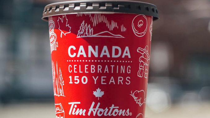 Tim Hortons Unveils New Special Edition Canada 150 Cup
