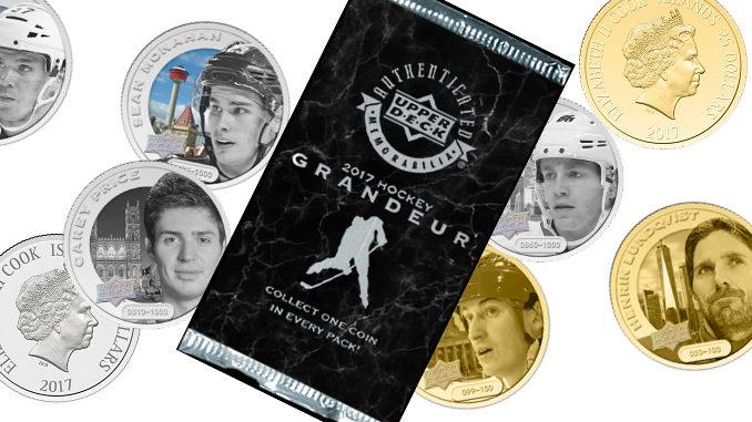 Upper Deck Unveils New Grandeur Hockey Coin Collection