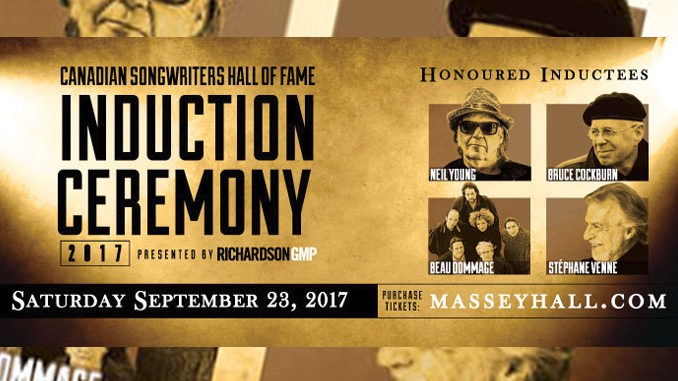 2017 Canadian Songwriters Hall Of Fame Inductees Include Neil Young, Bruce Cockburn