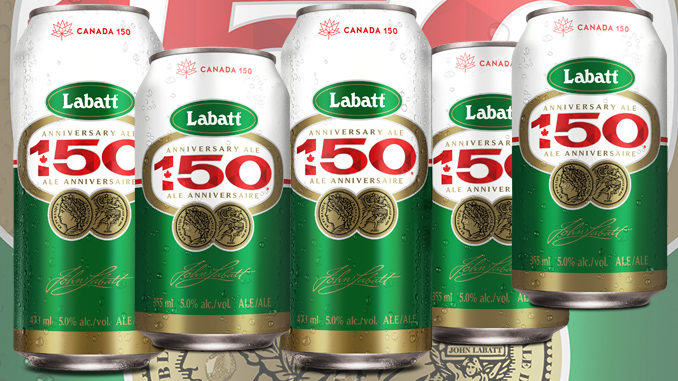 Labatt 50 Gets A Canada 150 Makeover In Celebration Of Canada's Birthday