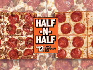 Little Caesars Canada Introduces New $12 Half-N-Half Pizza