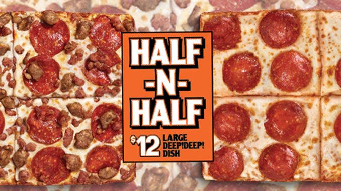 Little Caesars Canada Introduces New $12 Half-N-Half Pizza