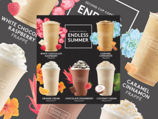 Second Cup Serves Up 2017 Endless Summer Drinks Menu