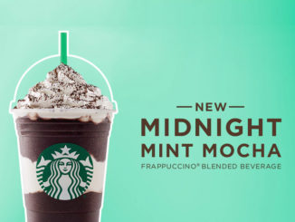 Starbucks Canada Introduces New Midnight Mint Mocha Frappuccino