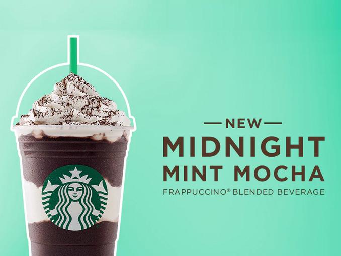 New Starbucks Drink Cocoa Mint