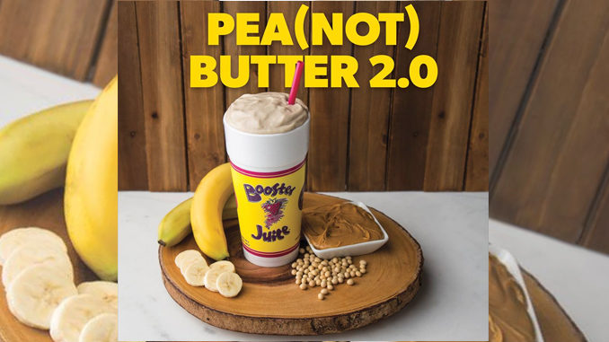 Booster Juice Serves New Pea(NOT) Butter 2.0 Smoothie