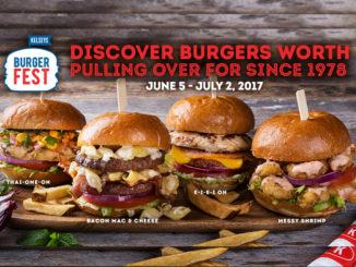 Burger Fest Is Back At Kelseys Through July 2, 2017