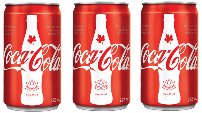Coca-Cola Unveils New Limited Edition Canada 150 Mini Can