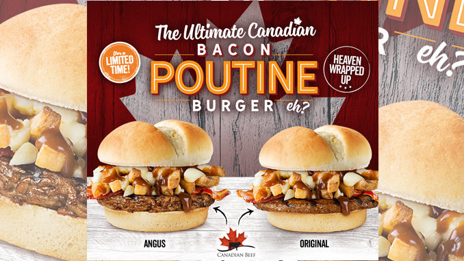 Harvey's Serves Up The Ultimate Canadian Bacon Poutine Burger