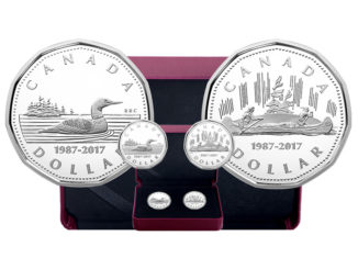 Mint Celebrates 30th Anniversary Of The Loonie With Special Two-Coin Set