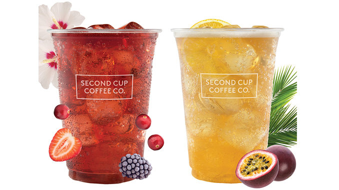 Second Cup Adds New Berry Hibiscus And Green Passionfruit Sparkling