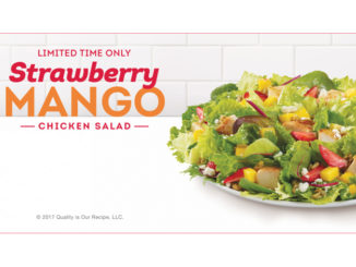 Wendy's Canada Introduces New Strawberry Mango Chicken Salad