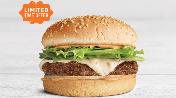 A&W Canada Brings Back The Spicy Mama Burger