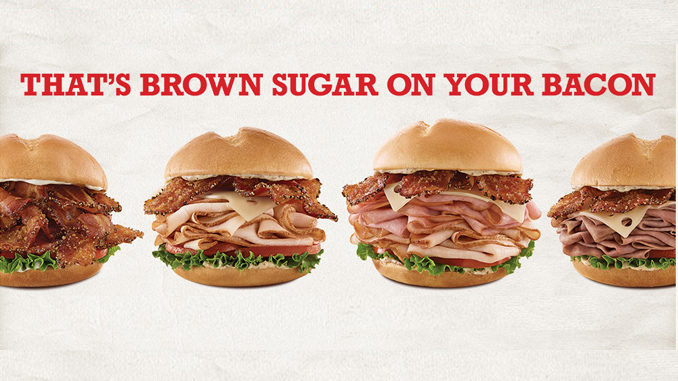 Arby's Canada Introduces New Brown Sugar Bacon Sandwiches