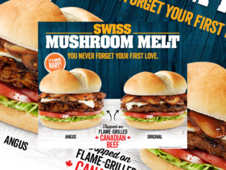 Harvey's Brings Back The Swiss Mushroom Melt