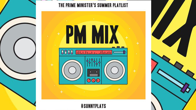 Justin Trudeau Reveals His 2017 Summer Playlist