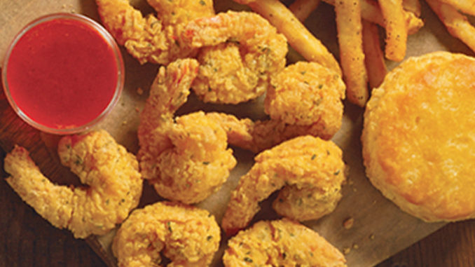 Popeyes Canada Introduces New Cheddar Biscuit Butterfly Shrimp