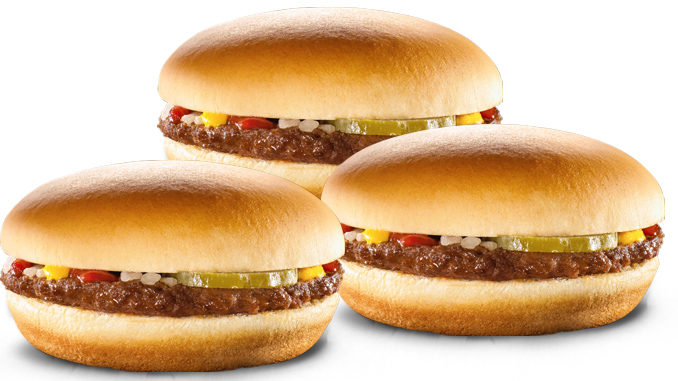 67-Cent Hamburgers At McDonald's Canada On August 16, 2017