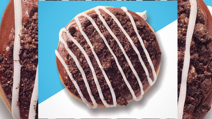 Krispy Kreme Canada Offers Oreo Cookies And Kreme Doughnut