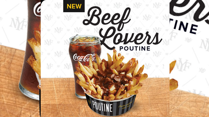 New York Fries Introduces New Beef Lovers Poutine