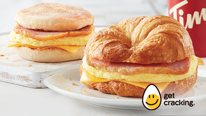 Tim Hortons Launches New Canadian Back Bacon Breakfast Sandwiches