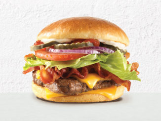 $4 Bacon Deluxe Cheeseburger At Wendy's Canada Through September 14, 2017