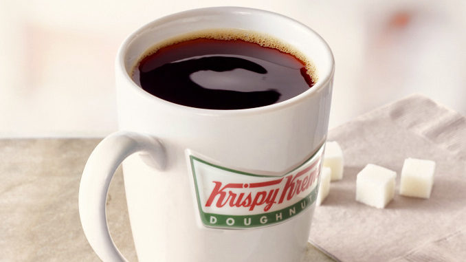 Krispy Kreme Canada Pours Free Coffee From September 29 To October 1, 2017