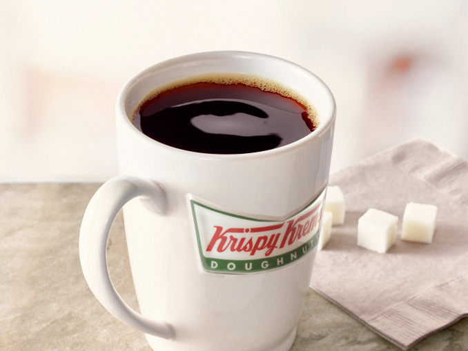 krispy kreme canada pours free coffee from september 29 to. Black Bedroom Furniture Sets. Home Design Ideas