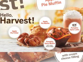 Tim Hortons Introduces 2017 Fall Harvest Menu