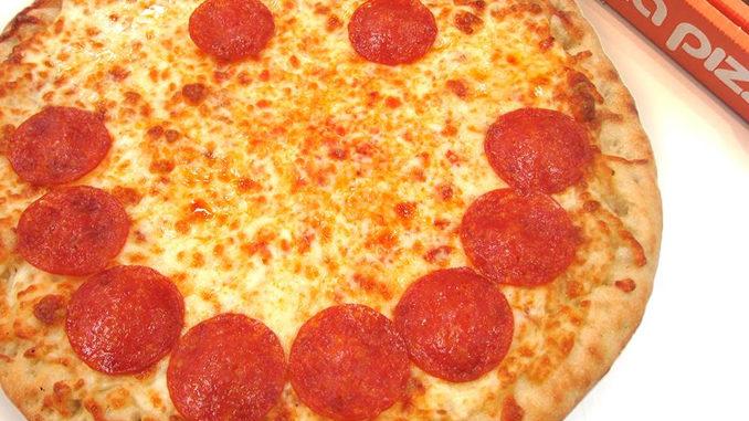 $5 Medium Smile Pizzas At Pizza Pizza Through October 22, 2017