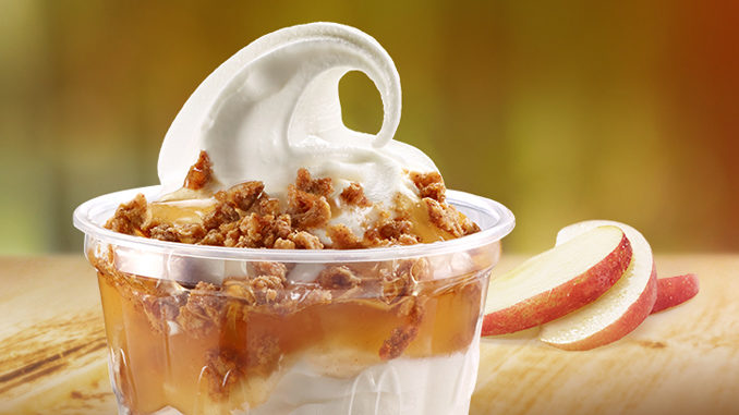 McDonald's Canada Introduces New Apple Crumble Sundae