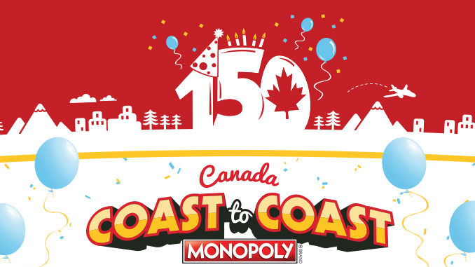 Monopoly Returns To McDonald's Canada On October 11, 2017