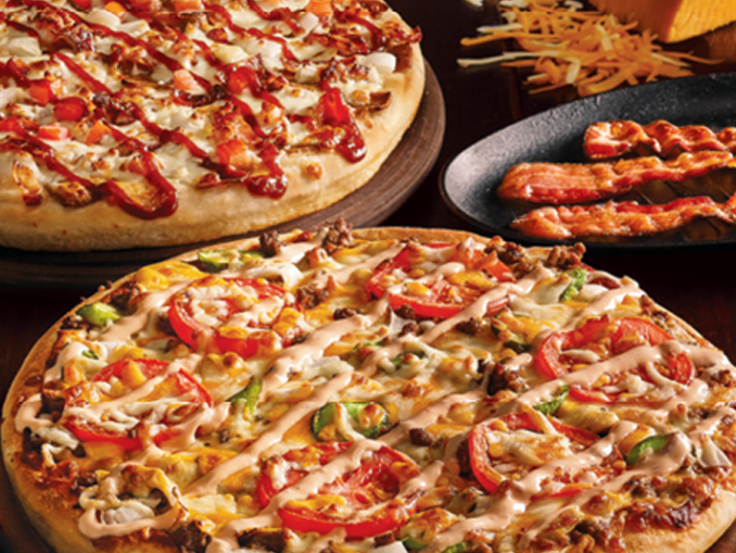 Pizza Delight Introduces New Cheeseburger And Smoky Bacon Donair Pizzas Canadify