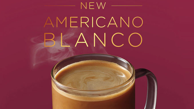 Starbucks Canada Introduces New Americano Blanco