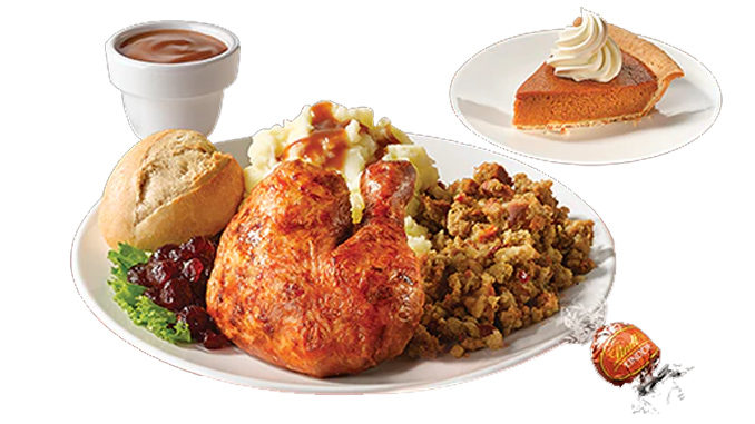 Swiss Chalet Serves Up $13.49 Thanksgiving Feast