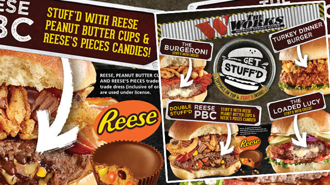 The Works Introduces New Double Stuff'd Reese PBC Burger