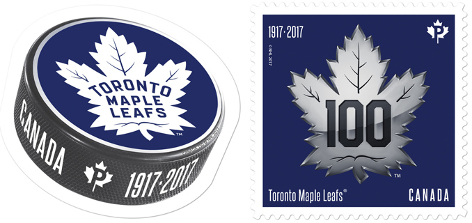 Toronto Maple Leafs commemorative stamps