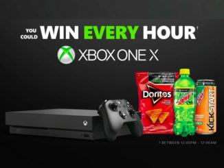 "Win An Xbox One X In The Mountain Dew And Doritos Canada ""Win Every Hour"" Contest"
