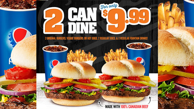2 Can Dine For $9.99 At Harvey's Through November 12, 2017