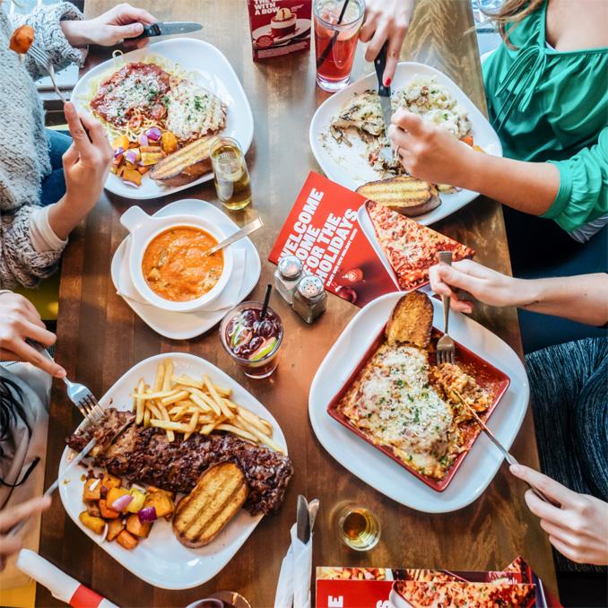 Boston Pizza 2017 Holiday Menu
